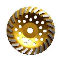 "7"" Concrete Turbo Diamond Grinding Cup Wheel for Angle"