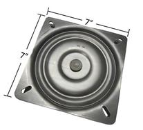 "7"" Replacement Bar Stool Swivel Plate - Made in the USA -"