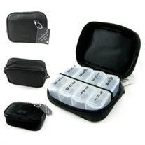 7 Day Sorter Pill Vitamin Medicine Weekly Travel Organizer