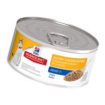 Hill's Science Diet Adult 7+ Entree Canned Cat Food Savory