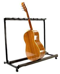 7 GUITAR STAND - MULTIPLE Seven INSTRUMENT Display Rack