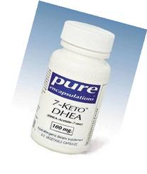 Pure Encapsulations 7-Keto DHEA 100 mg 60 vcaps