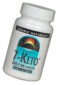 Source Naturals 7-Keto DHEA Metabolite 50 mg Tabs