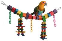 Super Bird Creations 7 by 18-Inch Rainbow Bridge Jr. Bird