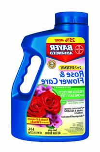 Bayer 701100A 2 In 1 Systemic Rose and Flower Care Granules
