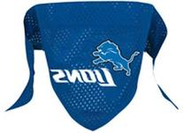 716298009471 Small Detroit Lions Dog Bandana