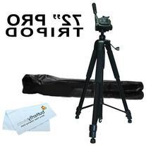 "Professional 72"" TRIPOD FOR Canon Vixia HF R82, HF R80, HF"