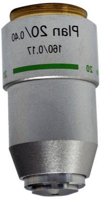 National Optical 720-160P 20X DIN Plan Achromat Objective