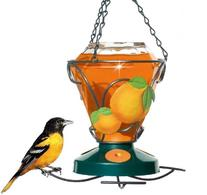 Perky-Pet 750 Deluxe Hand Painted Oriole Feeder, 24-Ounce