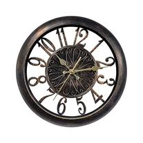 Chaney Instrument 75113 Open-Frame Antiqued Wall Clock, 14