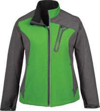 North End 78176 Terrain Ladies' Color-Block Soft Shell With
