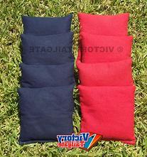 Standard Bags Color: Red and Navy Blue