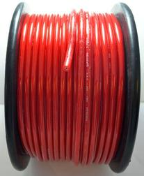 10 FT 8 GA RED Power Ground Primary Wire Copper Mix