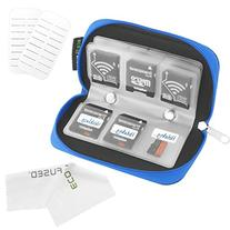 Memory Card Carrying Case - Suitable for SDHC and SD Cards