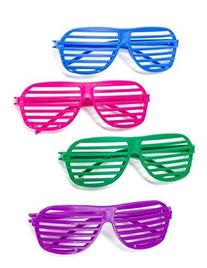 Kangaroo's 80's Neon Shutter Shades, Kids Sunglasses