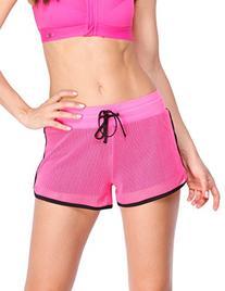 Yvette Women's Mesh Shorts / Anti-bacterial Breathable