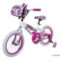 Dynacraft 8054-65TJ Decoy Girls Camo Bike, 16-Inch, White/