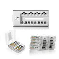 EBL 16-Pack AA Rechargeable Batteries  with AA AAA Battery