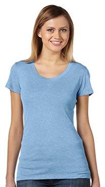 Bella 8413 Womens Triblend Short Sleeve Tee - Purple