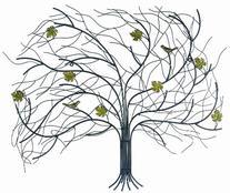"""Gardman 8425 Windswept Tree Wall Art, 29.5"""" Long x 24.5"""""""