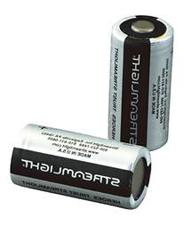 Streamlight 85175 CR123A Lithium Batteries, 2-Pack