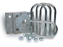 "TowZone 86782 Axle Tie Plate Kit for 2-3/8"" Round Axle"