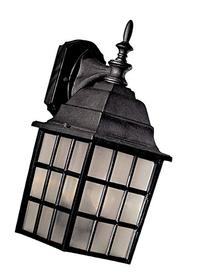 Minka Lavery 8718-66, Bridgeport, 2 Light Wall Mount, Black