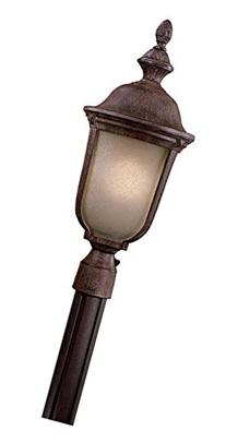 The Great Outdoors 8995-61 Ardmore Vintage Rust Outdoor Post