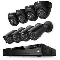 Amcrest 8Ch 1080P HDCVI/IP DVR Kit w/ 4 Bullet & 4 Dome &