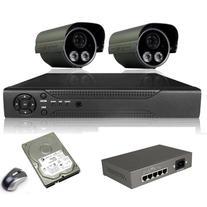 ANRAN 8CH NVR System Outdoor 2.0 MegaPixel HD POE Onvif IR