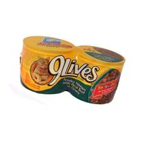 9 Lives Chunky Beef Din / Gravy - 6 Pack