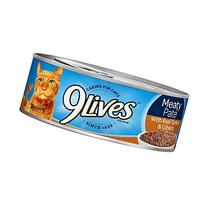 9Lives Meaty Paté With Real Turkey & Giblets Wet Cat Food,