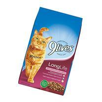 9 Lives Long Life Formula, 3.15-Pound Bags