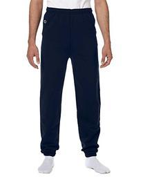 Champion Men's Double Dry Eco Fleece Pant, L-Royal Blue