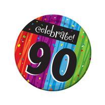 90th Milestone Celebrations Luncheon Plates