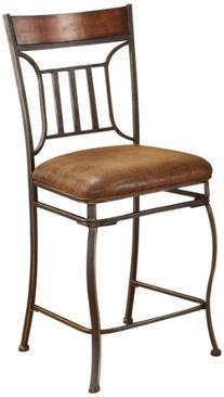 ACME 96058 Set of 2 Tavio Counter Chair, 24-Inch