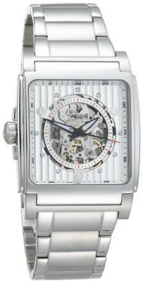 Bulova Men's 96A107 Automatic White Dial Bracelet Watch