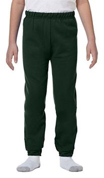 Jerzees Youth 8 oz., 50/50 NuBlend Sweatpants S FOREST GREEN