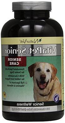 NaturVet VitaPet Senior Daily Vitamins Plus Glucosamine for