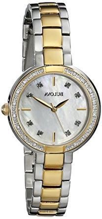 Bulova Women's 98R172 Diamond-Accented Watch