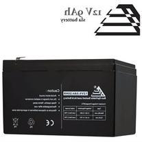 12V 9AH Sealed Lead Acid Battery Replaces PE12V9, PX12090,