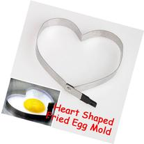 ACE Kitchen Heart Shaped Cook Fried Egg Mold Stainless Steel