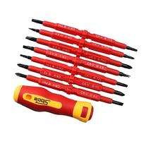 AGPtEK Insulated Electrical Screwdriver Phillips and Flat