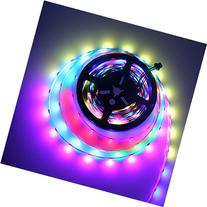 ALITOVE WS2812B Individually Addressable LED Strip 16.4ft