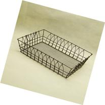 AUCH Large Metal Wire Workstation Legal Size Desktop Tray