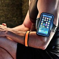 Accelerate Armband + BONUS: Accelerate LED Safety Bracelet