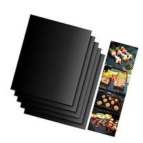 Accmor Grill Mat Set of 5- 100% Non-stick BBQ Grill & Baking
