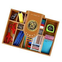 Bambüsi Bamboo Adjustable Drawer Organizerwer Organizer