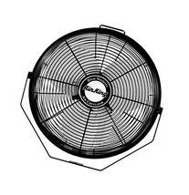 Air King 9312 Powder-Coated Steel Multi-Mount Wall Fan,