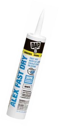 Alex Fast Dry Acrylic Latex Plus Silicone Caulk